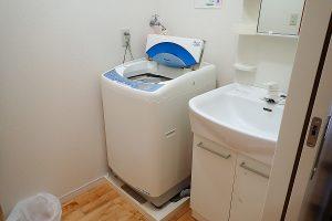 海星Ⅱ 部屋付洗濯機&洗面台